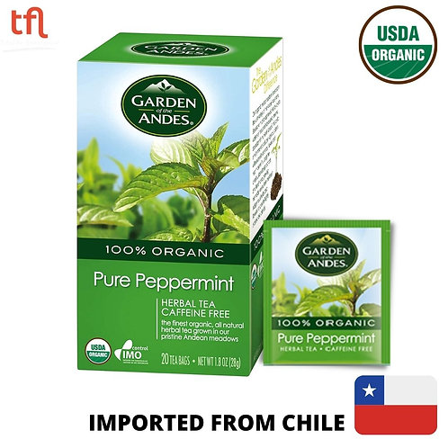 Garden of The Andes Organic Pure Peppermint Tea (20bags)