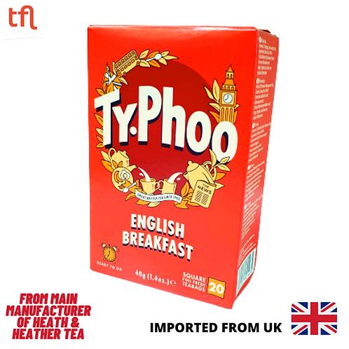 Typhoo English Breakfast Black Tea  ( 20 sachets )