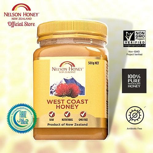 West Coast Honey 500g