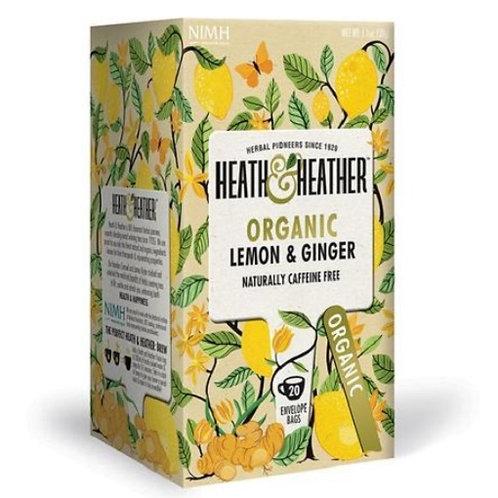 Organic Lemon & Ginger