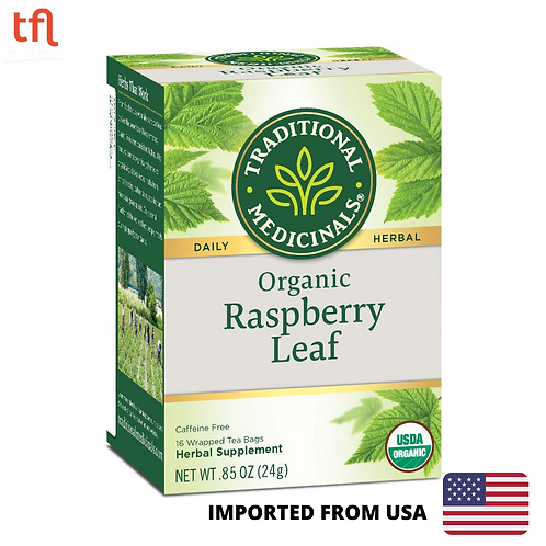 Traditional Medicinals - Organic Raspberry Leaf Tea