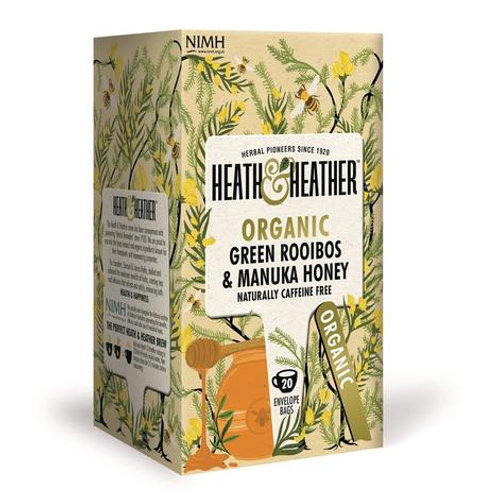 Organic Green Rooibos with Manuka Honey