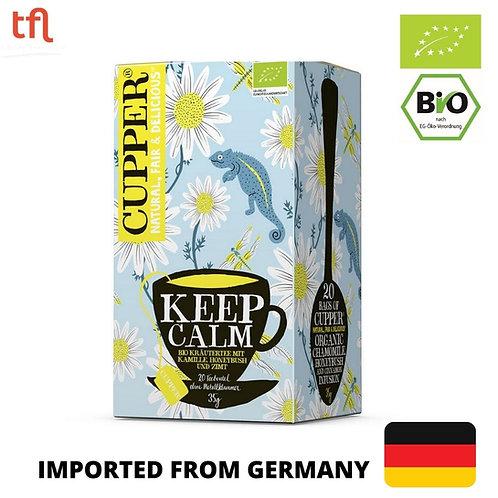 Cupper - Organic Keep Calm Chamomile Tea 30g (20 tea bags)