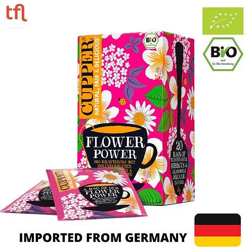 Cupper - Organic Flower Power Tea 35g (20 tea bags)