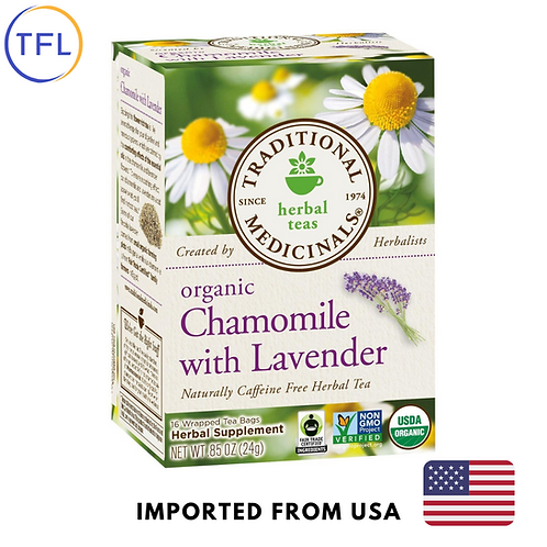 Traditional Medicinals - Organic Chamomile with Lavender