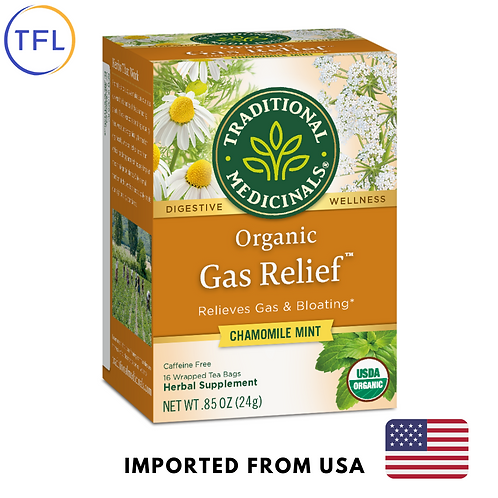 Traditional Medicinals - Organic Gas Relief