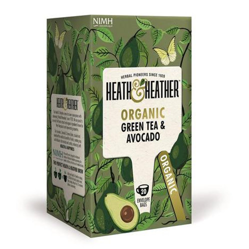 Organic Green Tea & Avocado