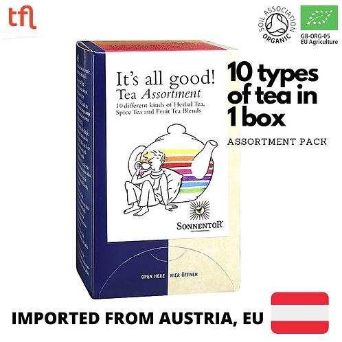 Sonnentor It's All Good! Organic Tea (20 sachets - assortments pack)