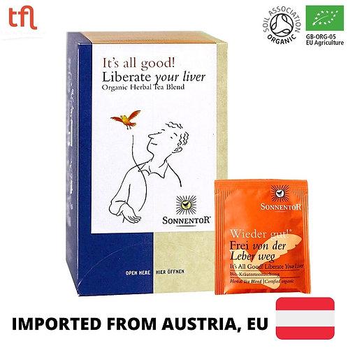 Sonnentor Liberate Your Liver Organic Tea (18 sachets)