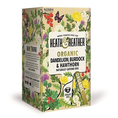 Organic Dandelion, Burdock and Hawthorne