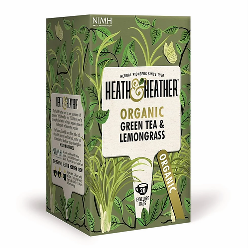 Organic Green Tea & Lemongrass