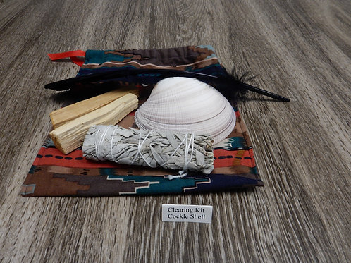 Cockle Shell, White Sage, Palo Santo