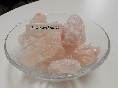 Quartz, Rose - Raw chunks or Tumbled