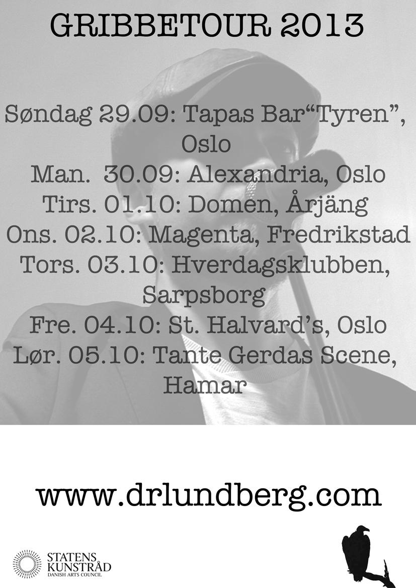 Tourposter 2013