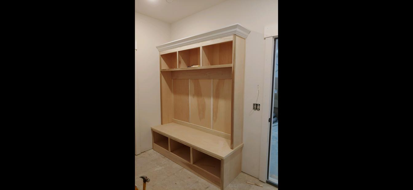 Built-in organizer