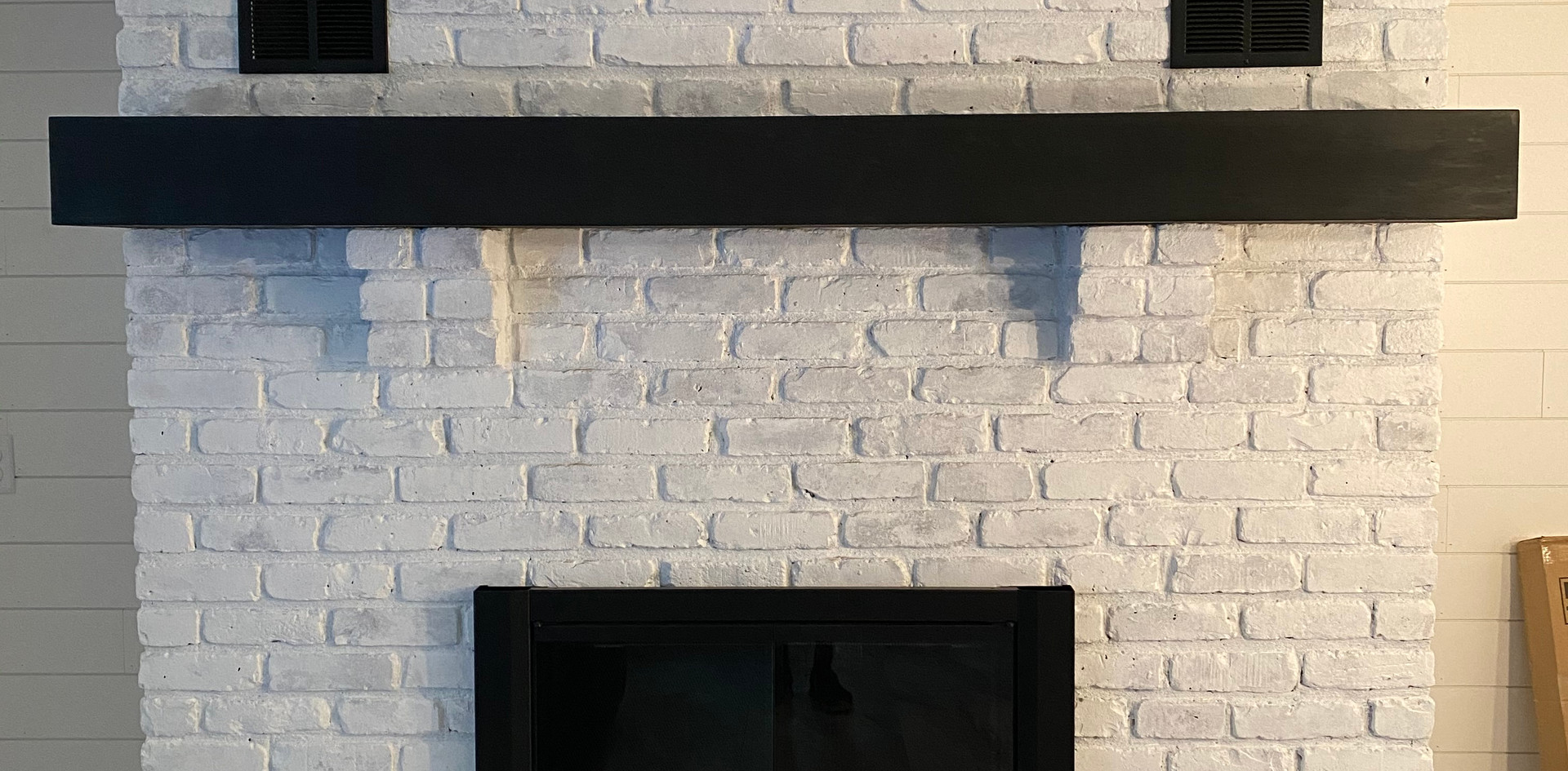 Another custom mantle!