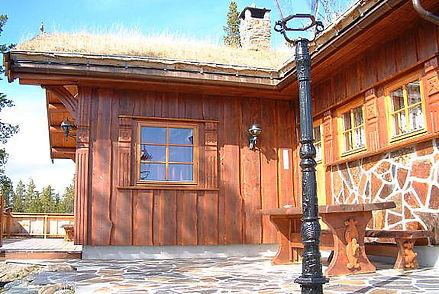villmarkspanel, kledning, hytte