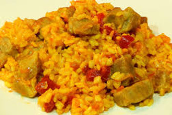 Chicken & Pork Paella - Family Meal