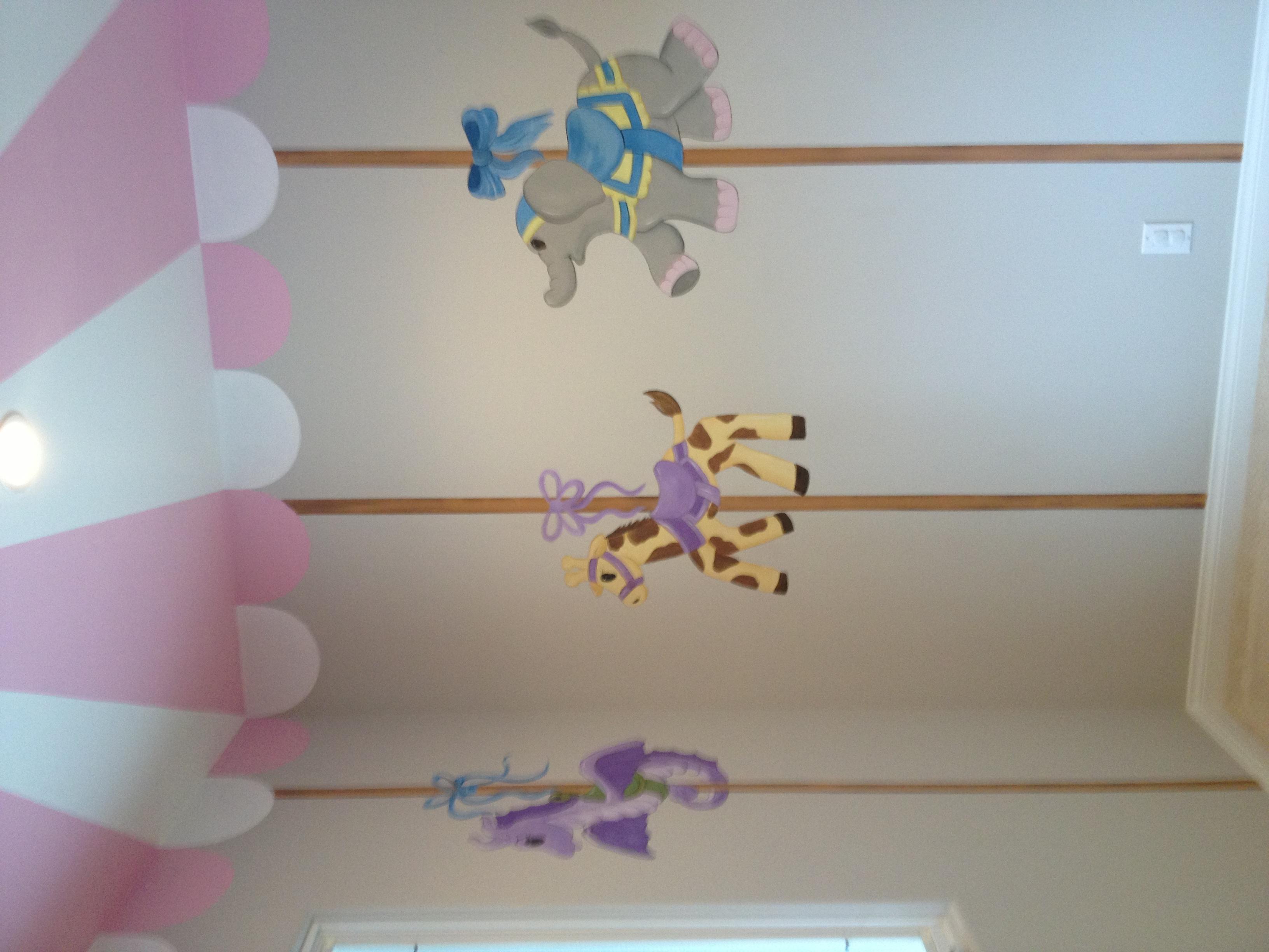 Carrousel mural