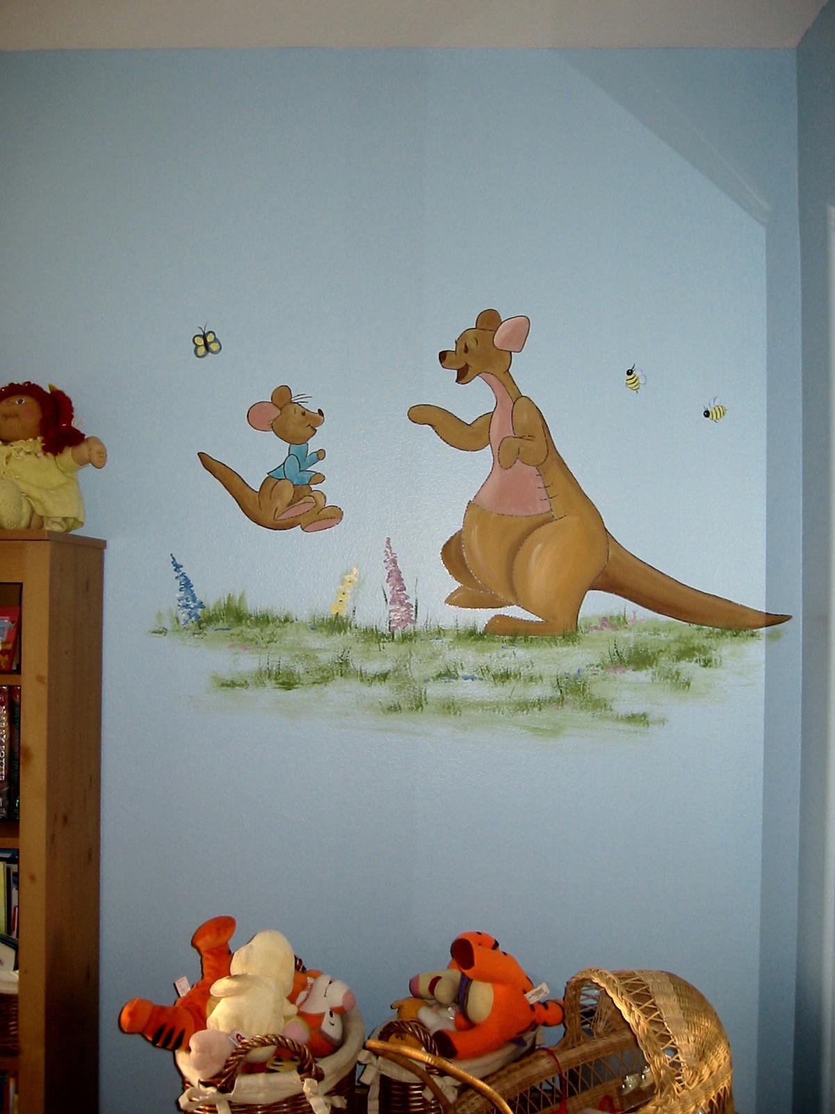 Winnie the Pooh mural