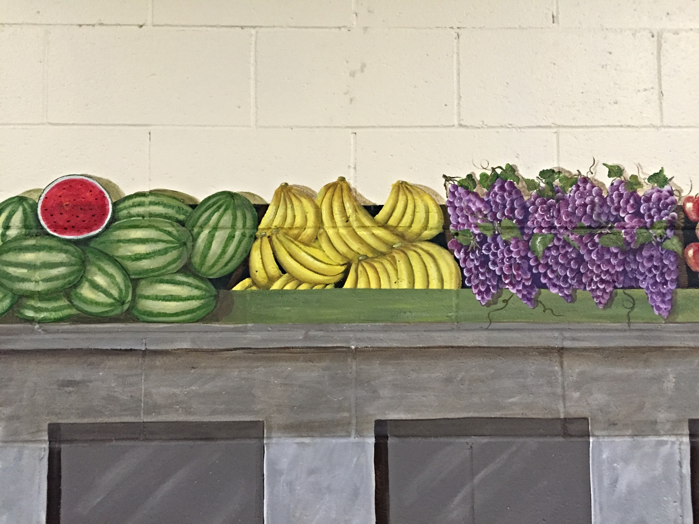 Closeup of produce