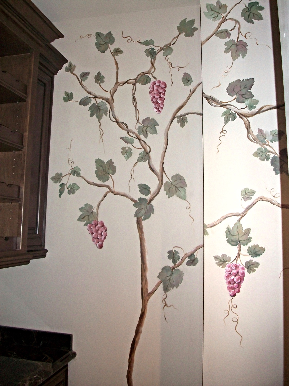 Grape vine tree