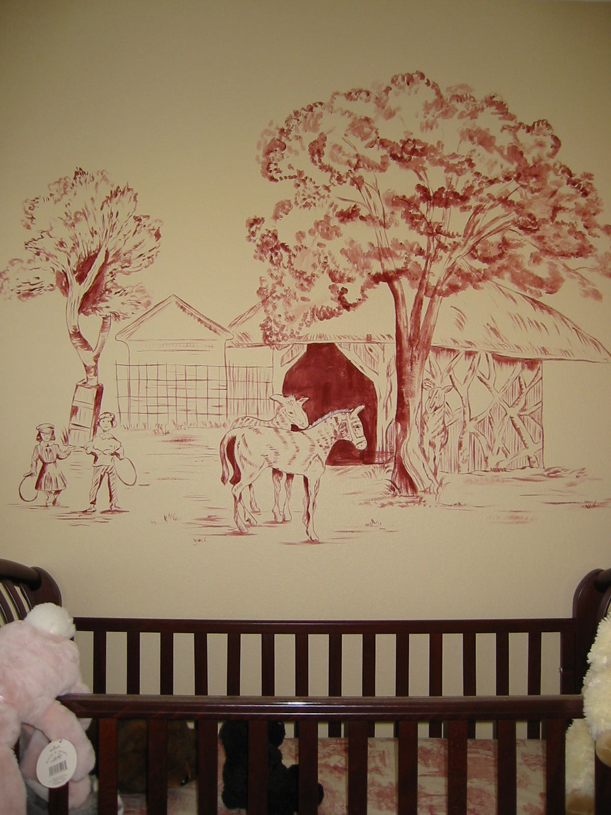 Toile mural