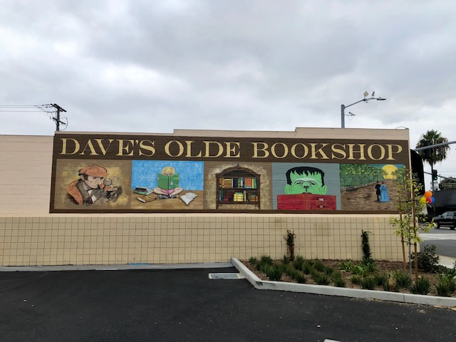 Outdoor Bookstore Mural