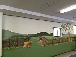 Harvest mural