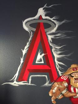 """Closeup of Angles, """"A"""""""
