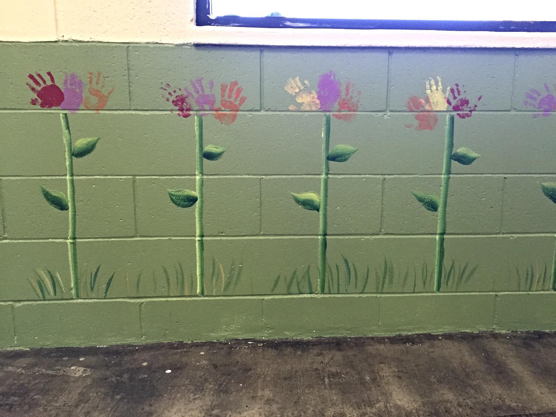 "Handprint ""flowers"""