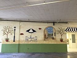 French mural