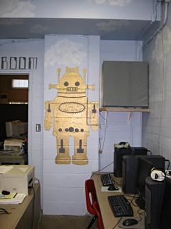 Robot mural
