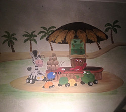 Jungle Junction mural