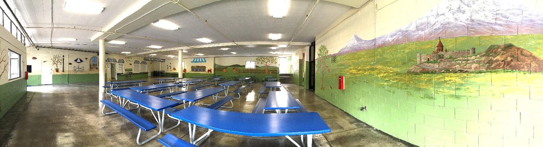 School Cafeteria mural