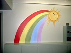 Rainbow & Sun