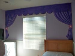 Faux curtains