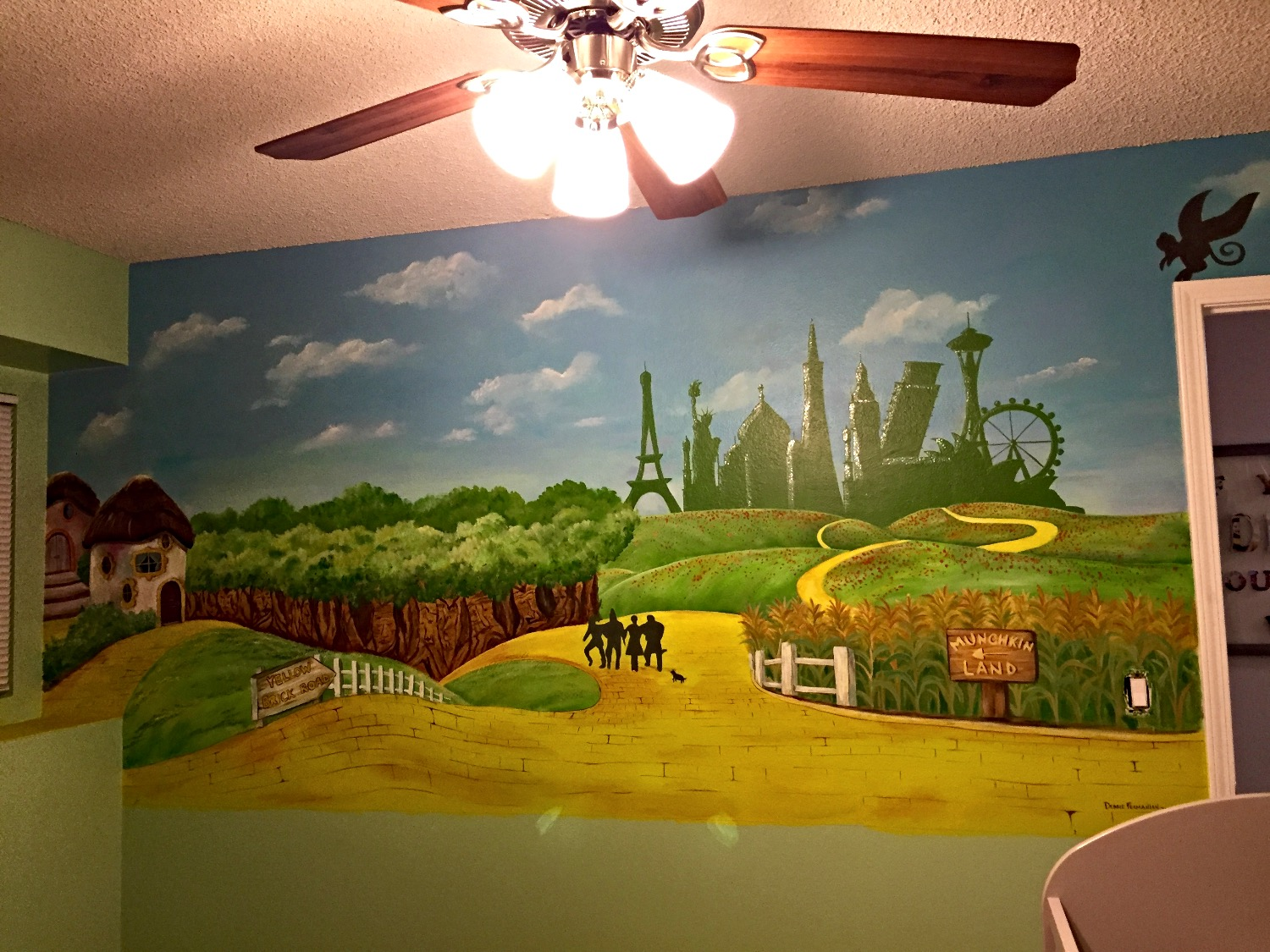 Wizard of Oz mural