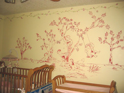 Toile to match bedding