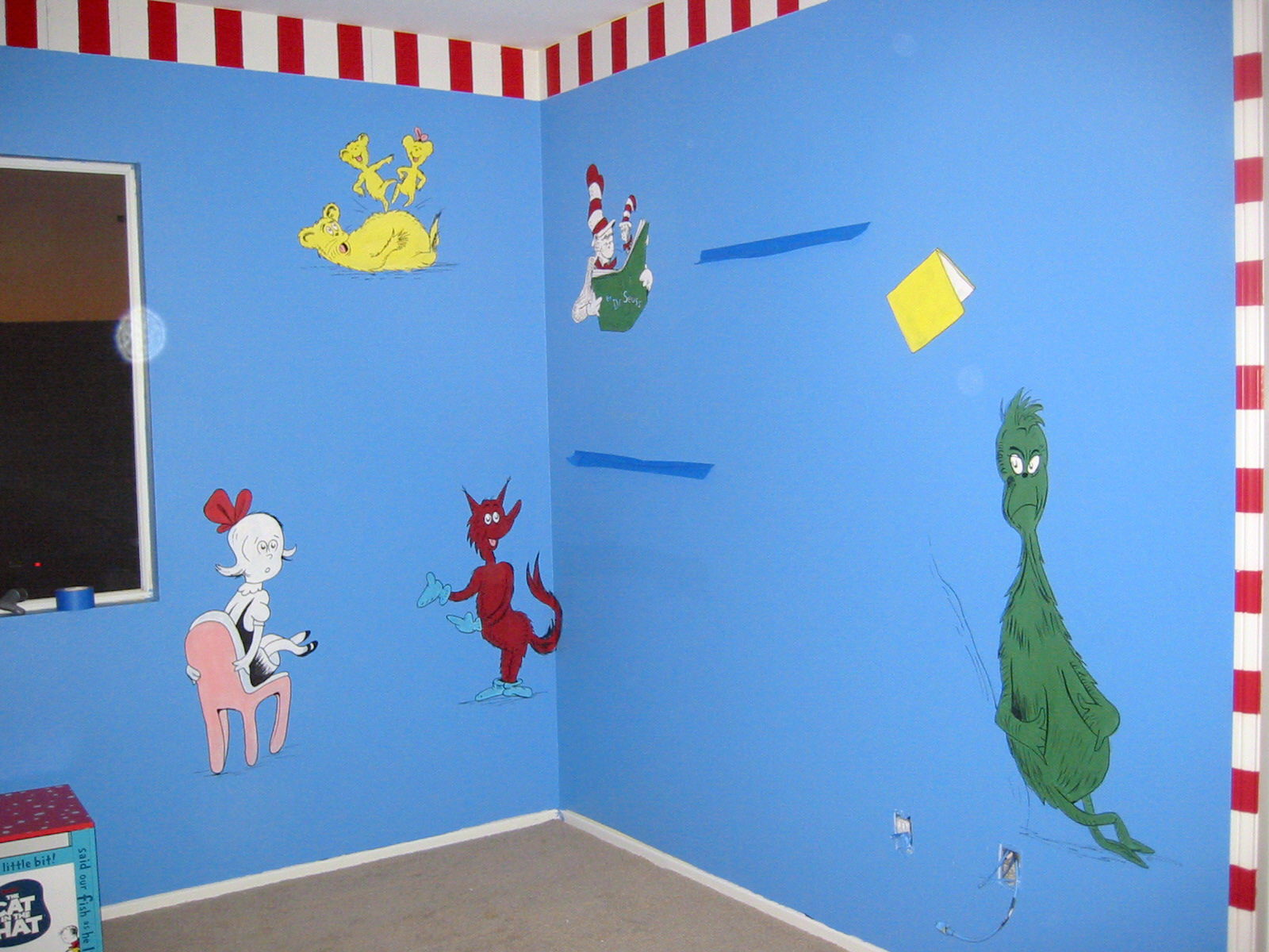 Dr. Suess and friends