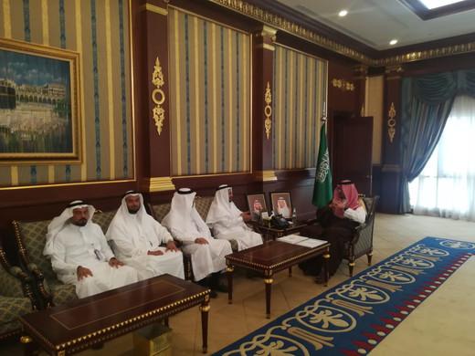 زيارة صاحب السمو الملكي الأمير سعود خالد الفيصل نائب أمير منطقة المدينة المنورة
