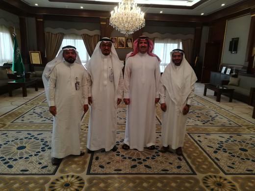 زيارة صاحب السمو الملكي الأمير فيصل بن سلمان بن عبدالعزيز آل سعود أمير منطقة المدينة المنورة