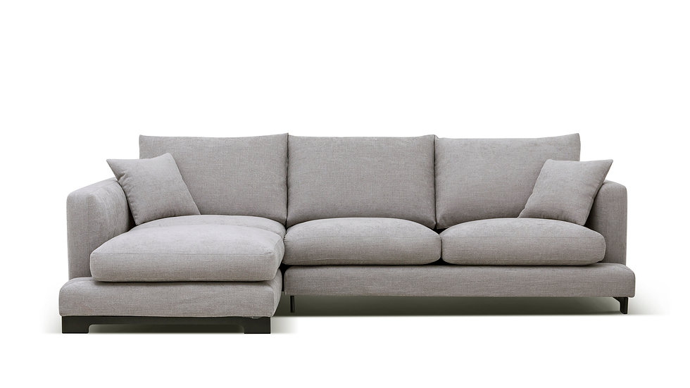 """Lazy Time Small Sectional Sofa - 107"""""""