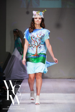 Hand painted silk scarf-Pari Chehrehsa - Designer Scarf- Canada 20187