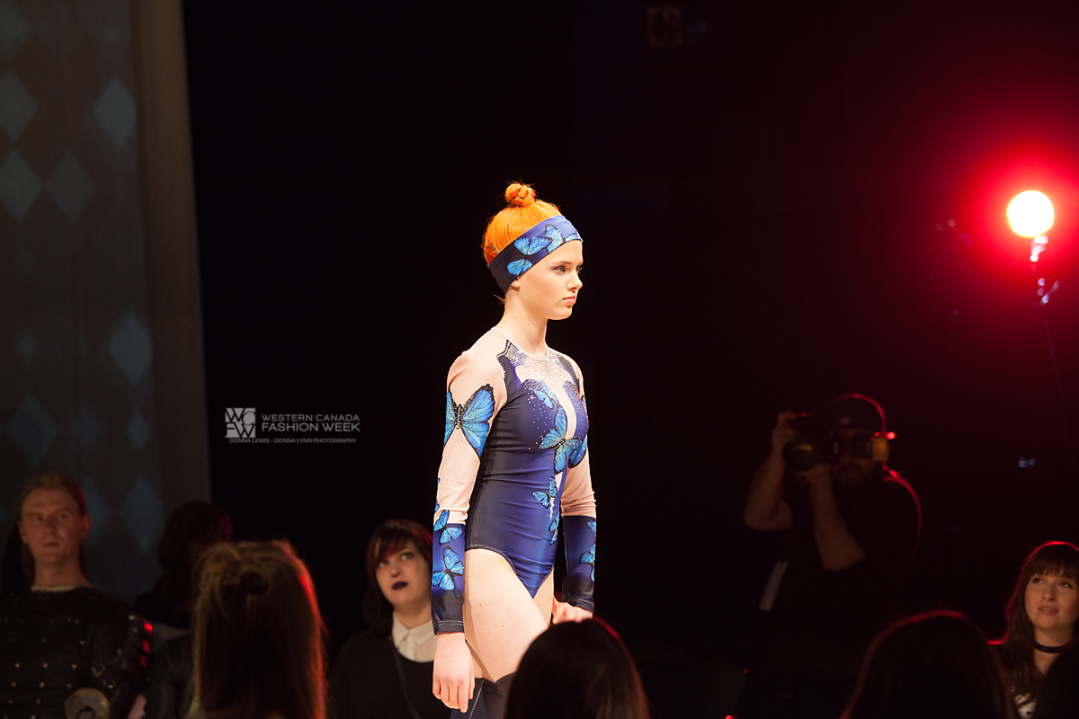 Blue Butterflies Leotard