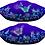 Thumbnail: Mystical Night Garden  Asymmetrical Silk Top