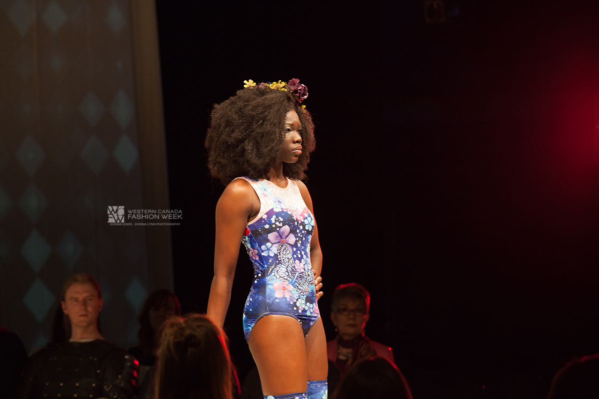 Dancing Butterflies & Flowers  in the Cosmo!Western Canada Fashion Week 4