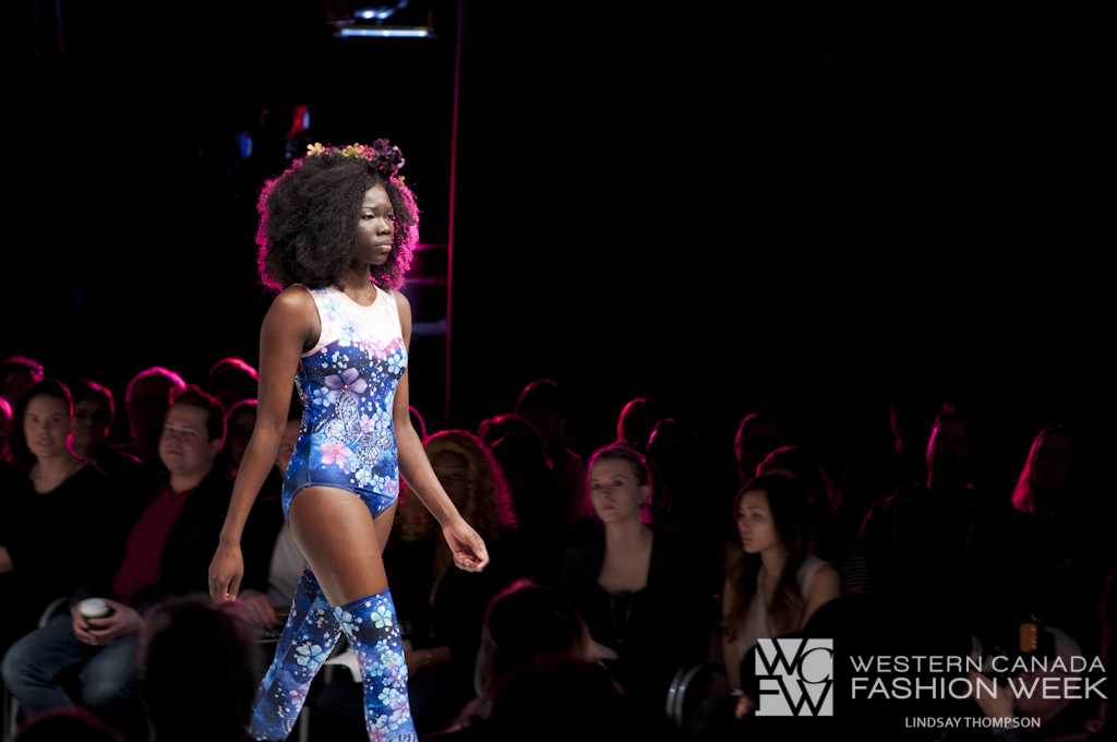 Dancing Butterflies & Flowers  in the Cosmo!Western Canada Fashion Week 3