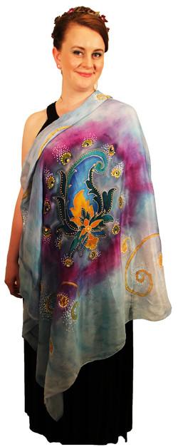 Persian Paisley in Batik