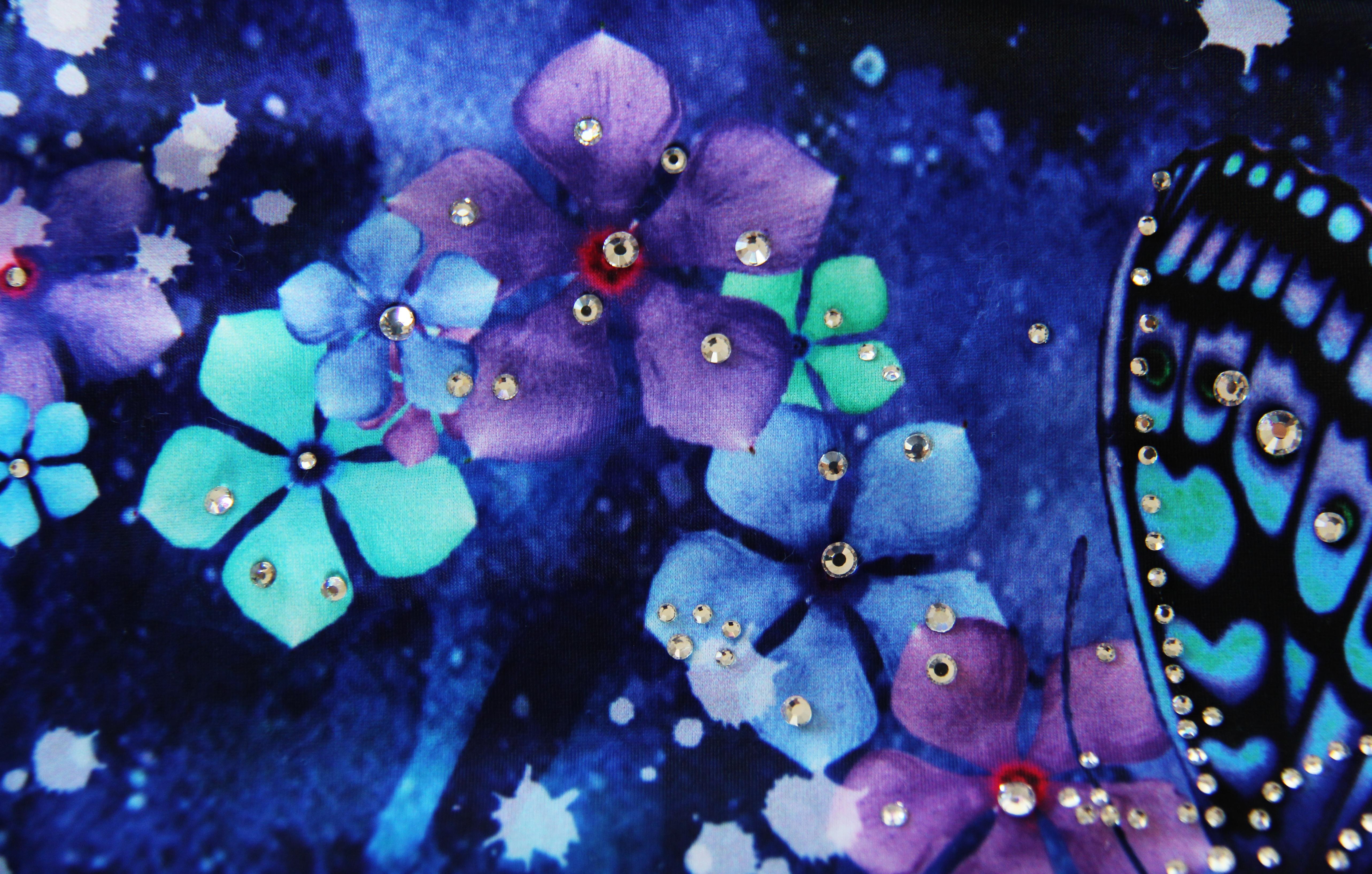 Dancing Butterflies & Flowers  in the Cosmo! 12